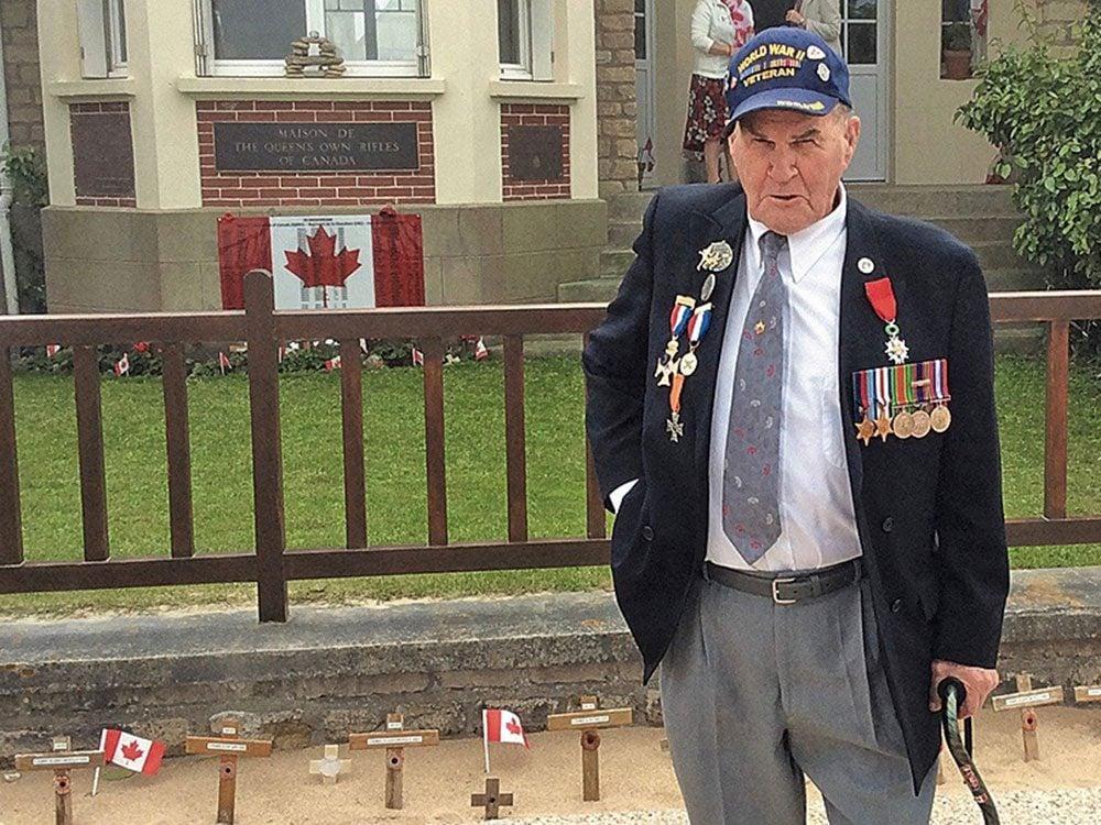D-Day veteran Harold Rowden