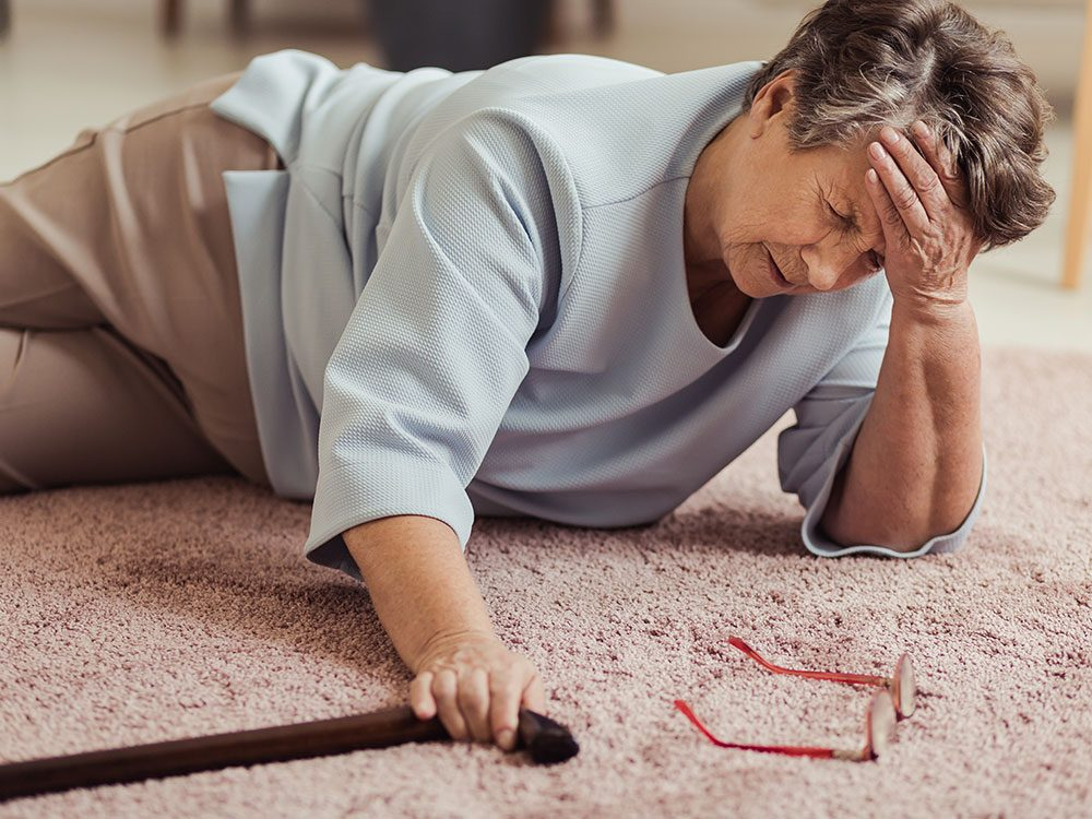 Fall prevention tips for seniors at home