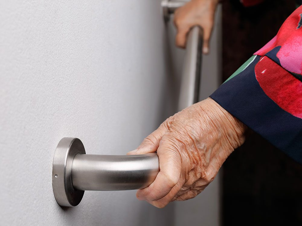 Fall prevention tips: Install grab bars