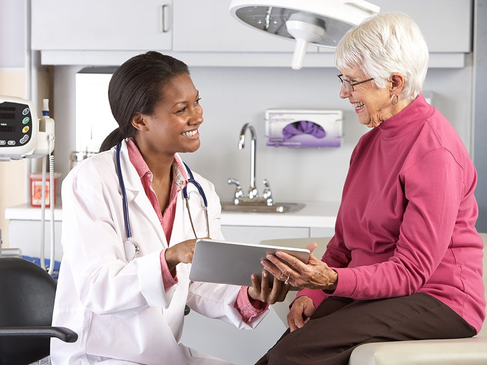 Fall prevention tips: See your doctor