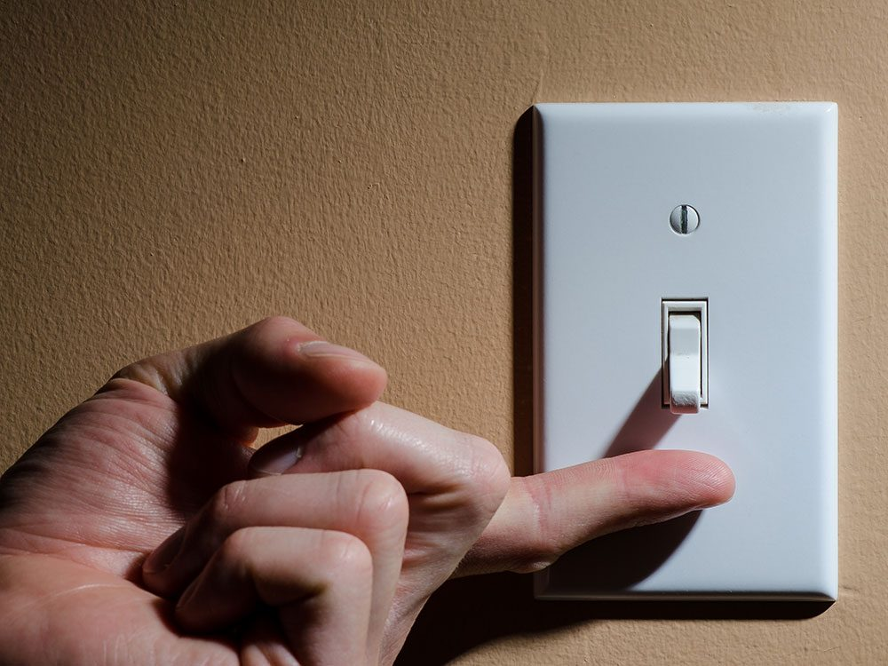 Fall prevention tips: Turn on the lights