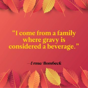 20 Funny Thanksgiving Quotes to Share Around the Table