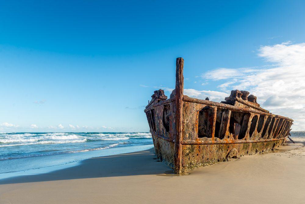 SS Maheno shipwrecks