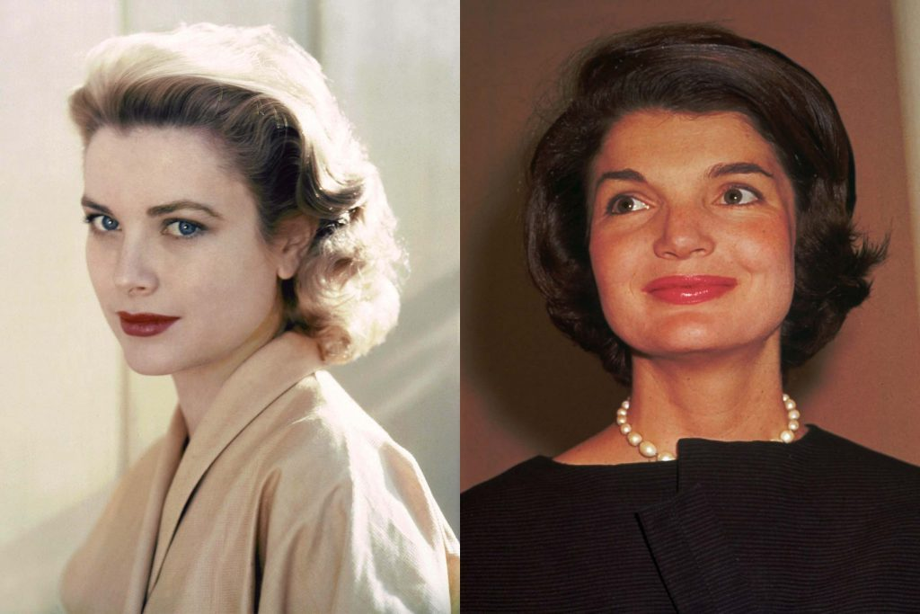 Grace Kelly and Jackie Kennedy