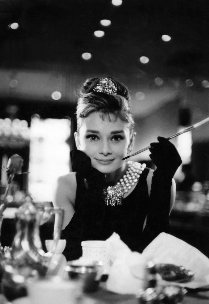 "Still of Audrey Hepburn from ""Breakfast at Tiffany's"""