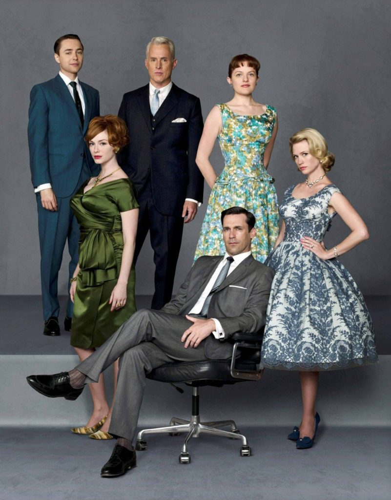 "Main cast of ""Mad Men: Season 1"""