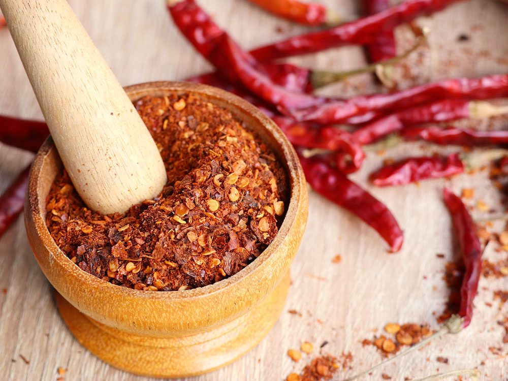 Healing herbs and spices: Cayenne