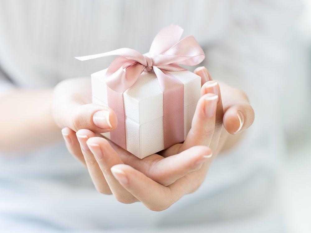 Alternative gifts for a milestone birthday