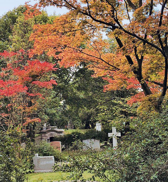 Mount Pleasant Cemetery in Toronto