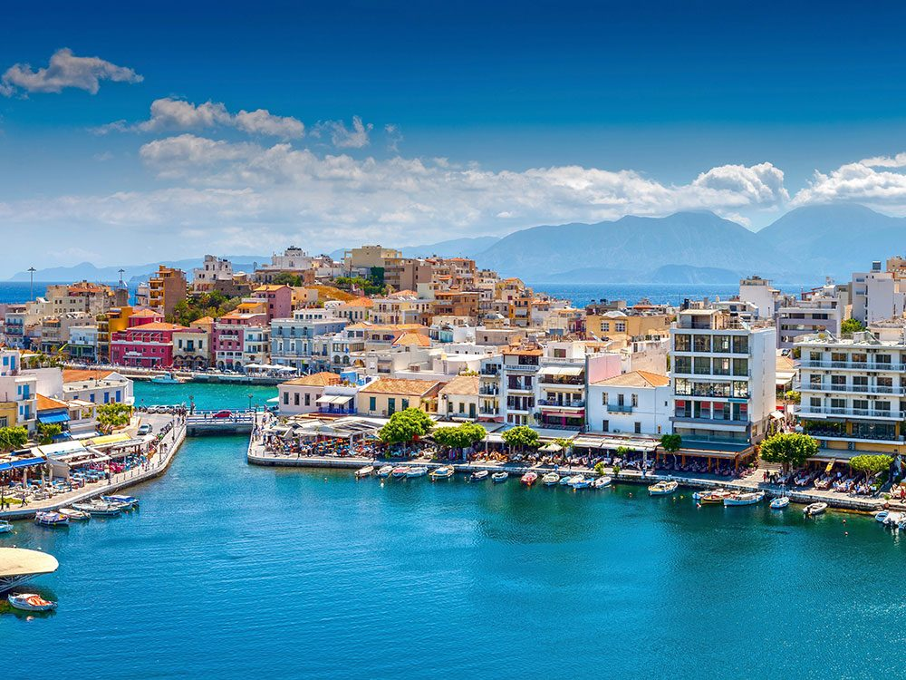 Island of Crete in Greece