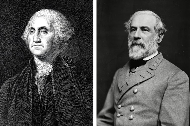 George Washington and Robert E. Lee