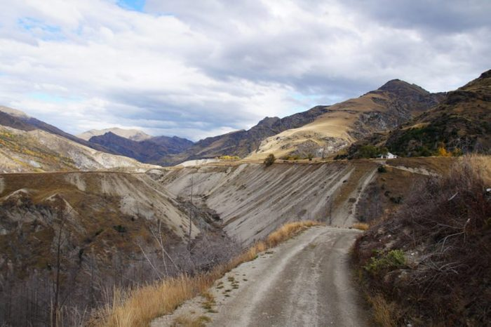 Skippers Canyon Road , Queenstown, New Zealand