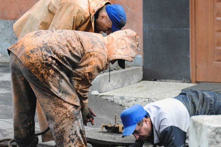 Sewer inspectors