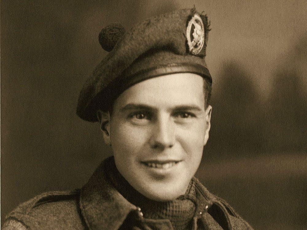 Canadian soldier Frederick L. Fielding