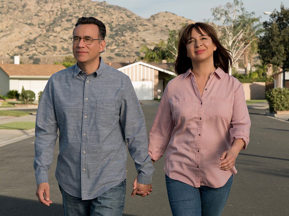 "Fred Armisen and Maya Rudolph in ""Forever"""