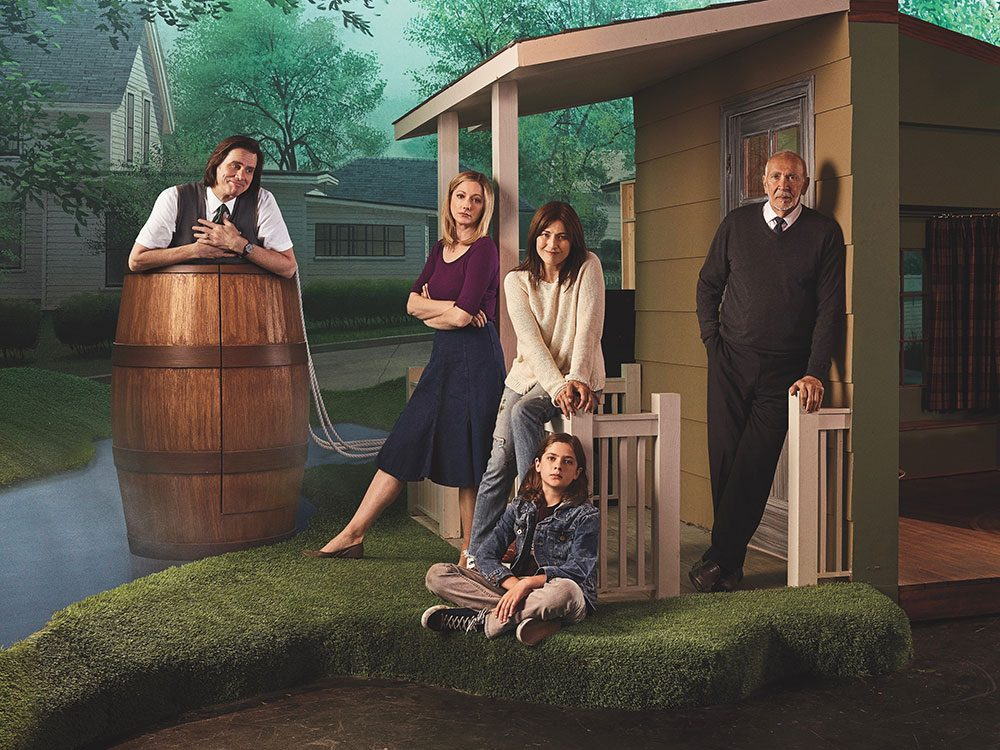 "Cast of ""Kidding"" television series"