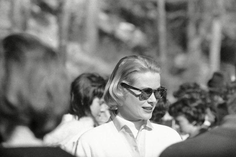 Who was driving Grace Kelly's car