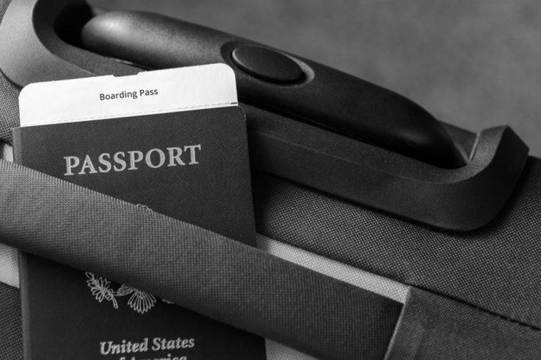 Modern passport