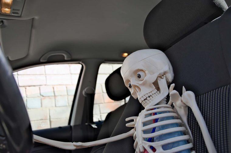 Drive-through skeleton