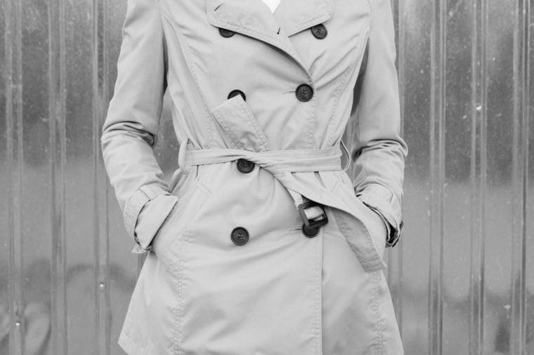 Women's trenchcoat