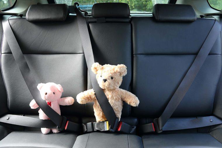 Drive-through teddy-bear