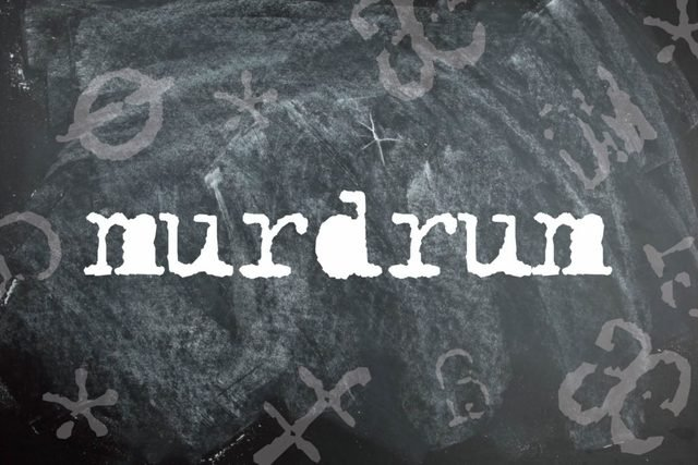 Murdrum is a palindrome