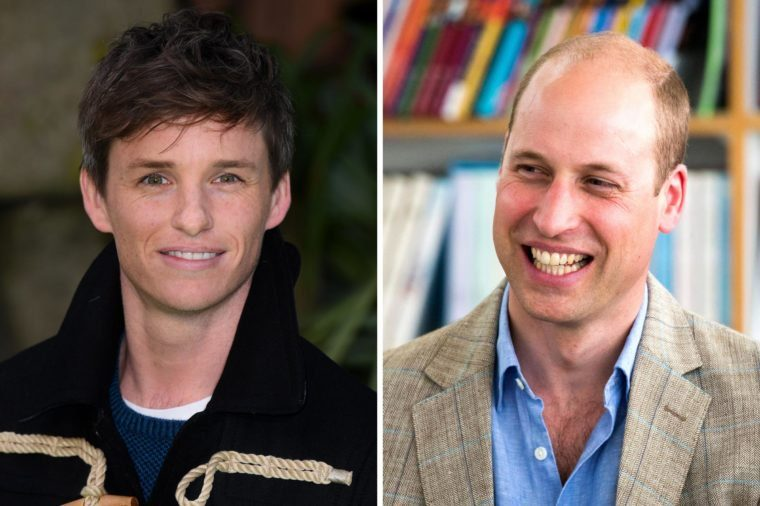 Eddie Redmayne and Prince William