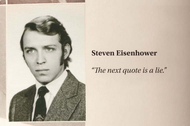 Funniest Yearbook Quotes That Will Make You Laugh Readers Digest