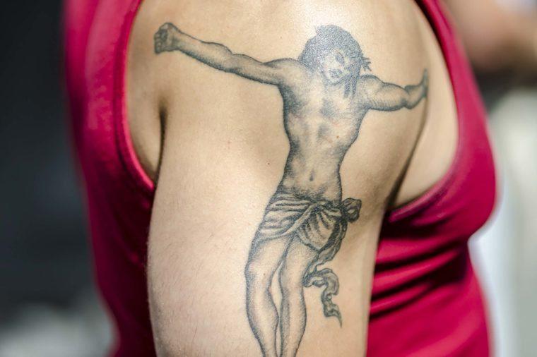 Drive-through tattoo