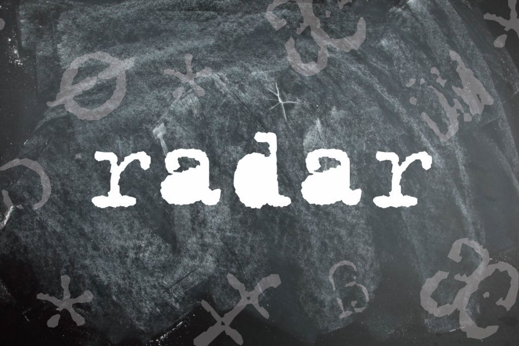 Radar is a palindrome