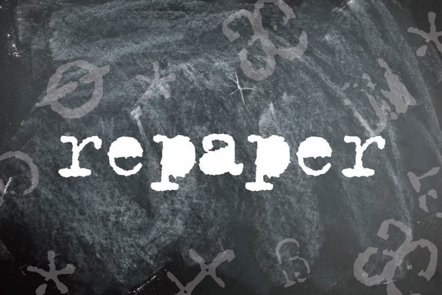 Repaper is a palindrome