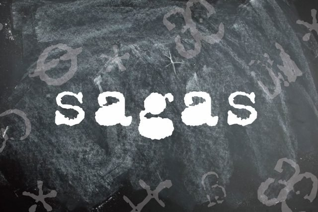 Sagas is a palindrome