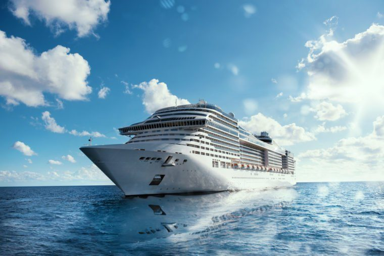 Cruise voyage