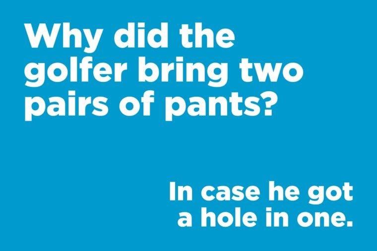 golfer pants