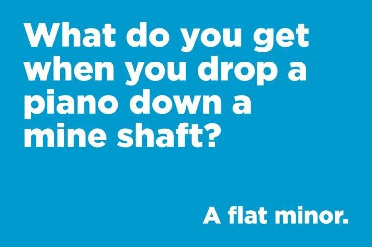 drop a piano
