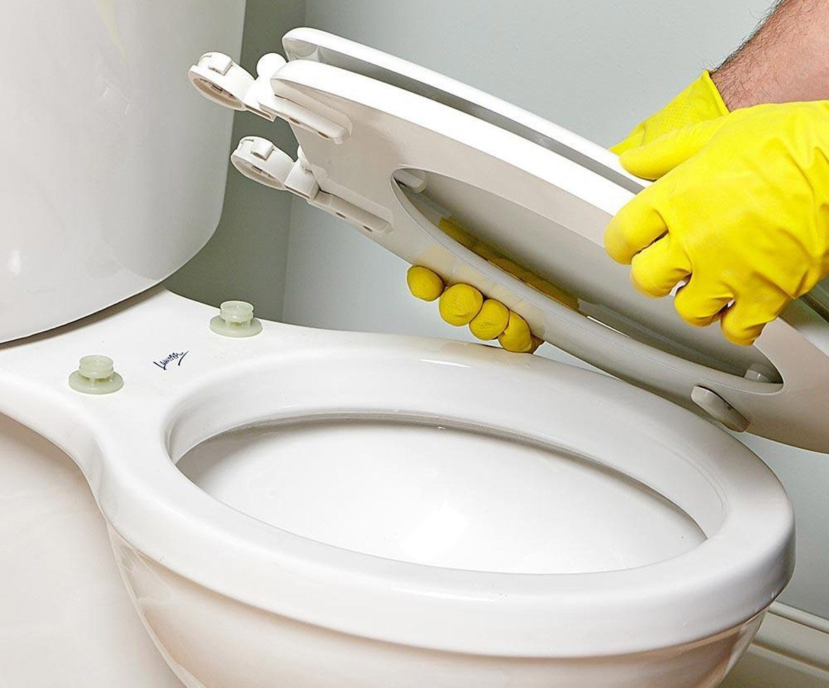 detachable toilet seat