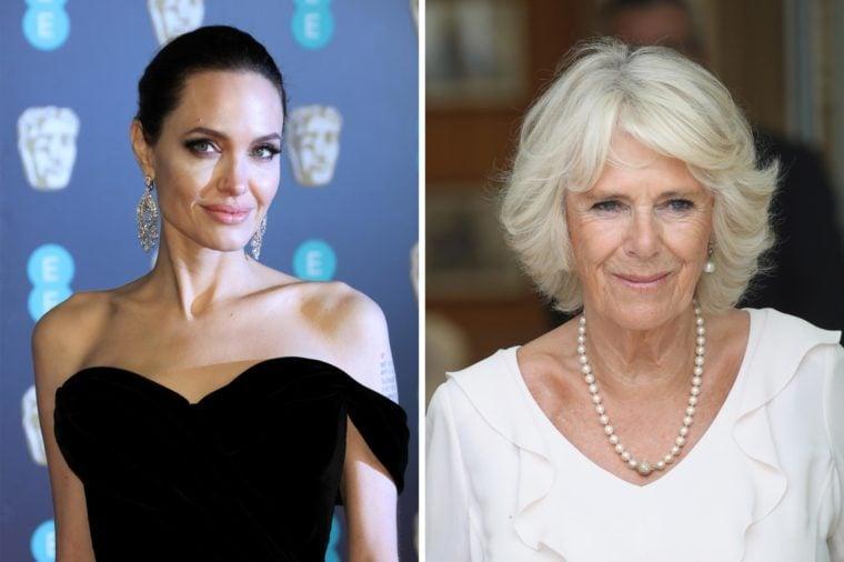 Angelina Jolie and Duchess Camilla