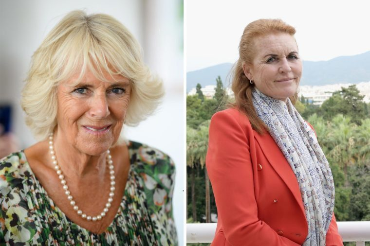 Camilla and Sarah Ferguson