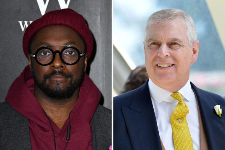 Will.i.am and Prince Andrew
