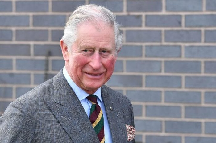 Prince Charles arrives at Dearne Community Fire Station