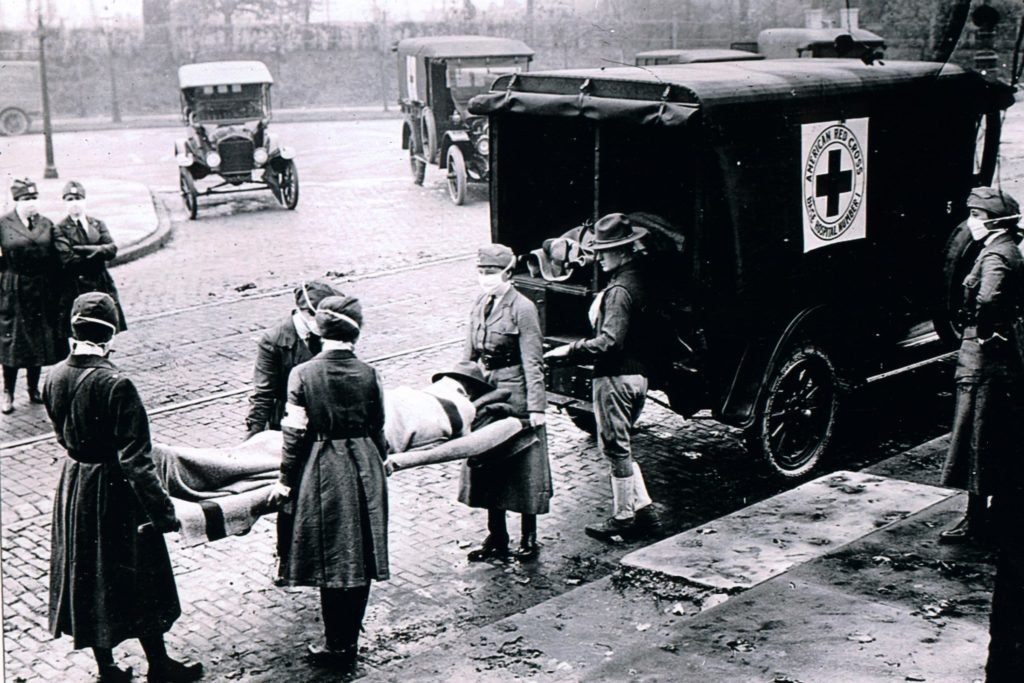 Deadly flu epidemic of 1918