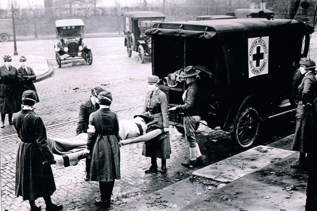 Deadly flu epidemic of 1918