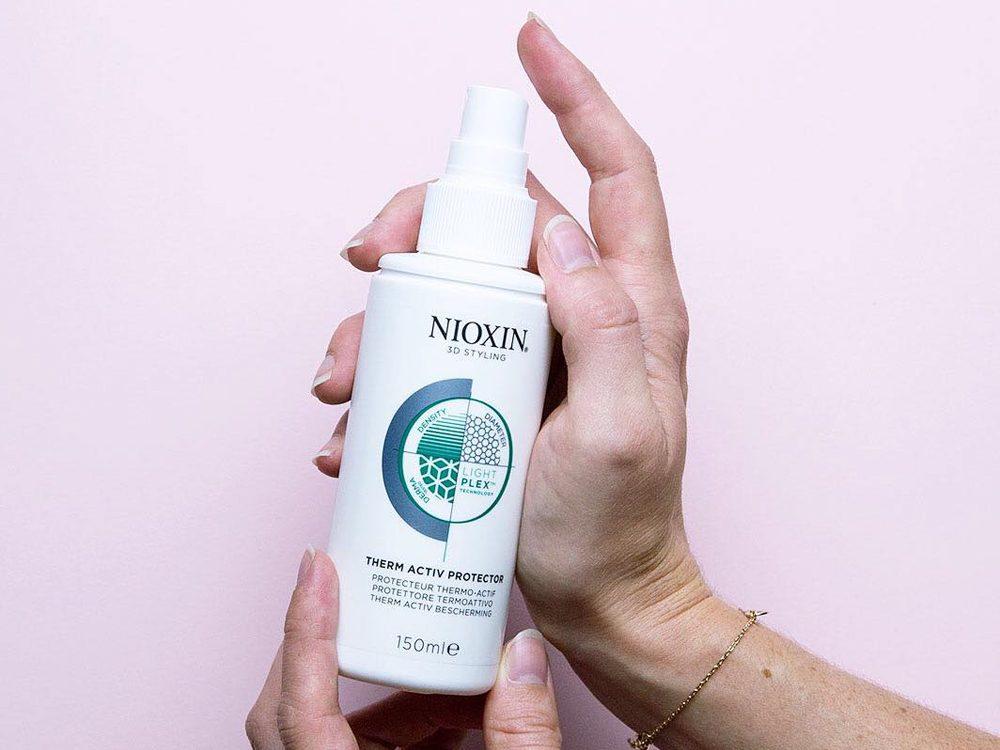 Nioxin bottle