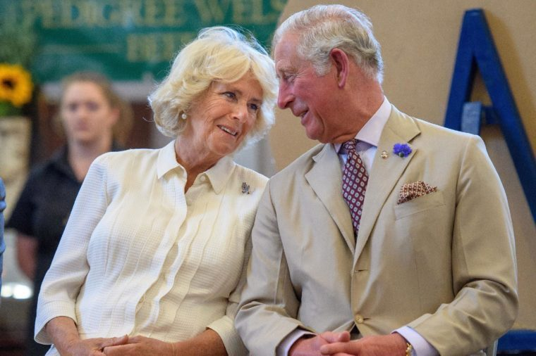 Camilla Duchess of Cornwall and Prince Charles reopening the Strand Hall, Builth Wells