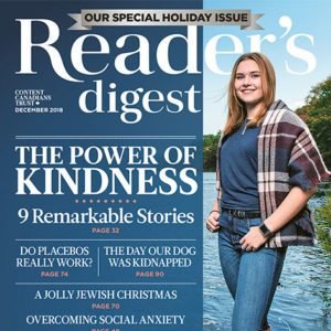 Inside the December 2018 Issue of Reader's Digest Canada