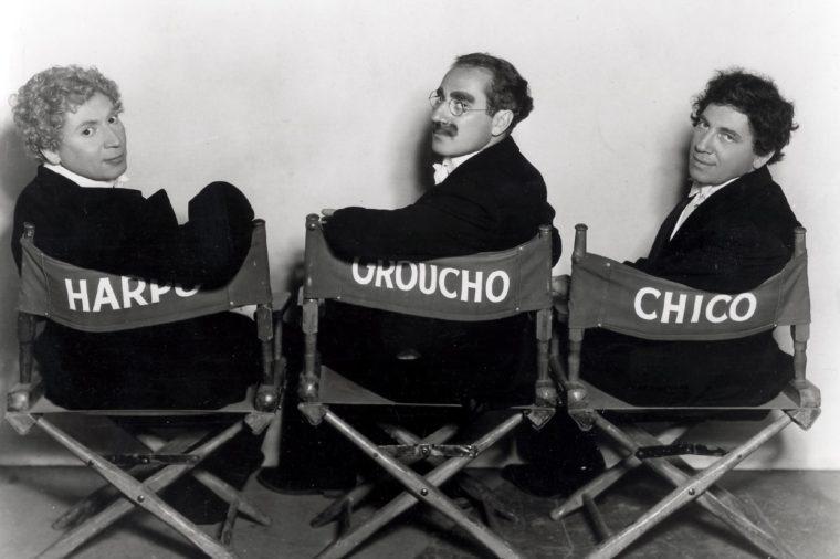 Harpo Marx, Groucho Marx, Chico Marx