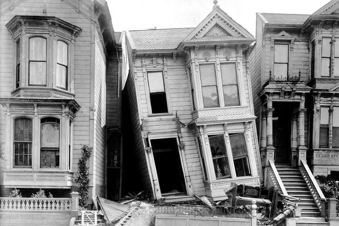 San Francisco earthquake aftermath