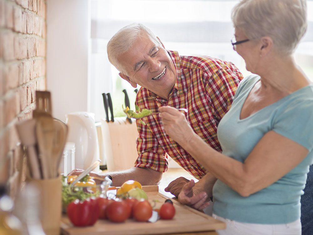 Active seniors are more likely to live independently