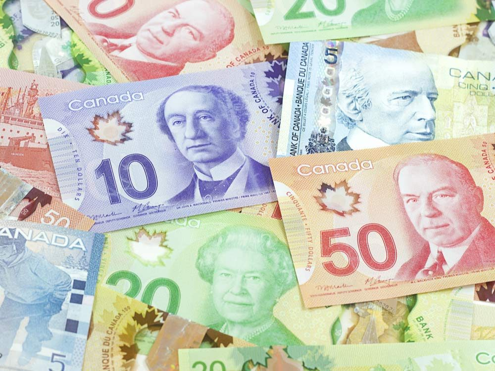 Canadian bank notes