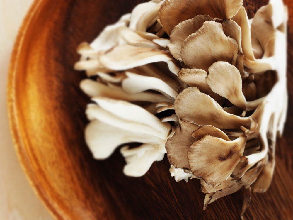 Maitake mushrooms